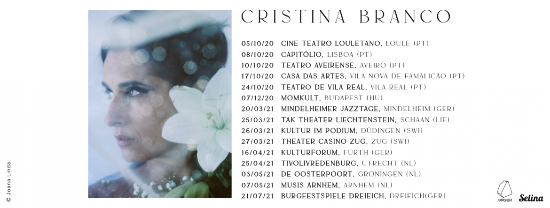 Cristina Branco Presents her new album Eva in Europe