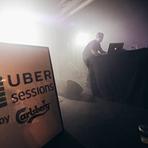 Uber Sessions Powered by Carlsberg